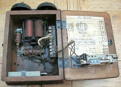 Vintage GPO Telephone Bell Set No 41 for 300 series phones