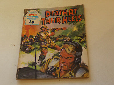WAR PICTURE LIBRARY NO 1108!,dated 1975!,V GOOD for age,great 44!YEAR OLD issue.