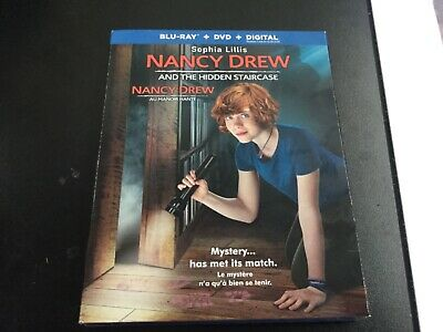 Nancy Drew And The Hidden Staircase  (Blu-Ray + Dvd+ Digital) Brand New Sealed