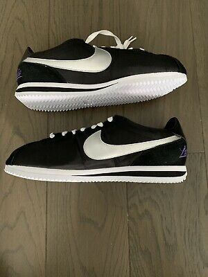 NIKE CORTEZ LOS Angeles Pack Men's Size 9 Black/Metallic Silver SKU ...
