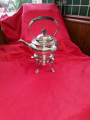 Kettle: A beautiful condition Hallmarked Gorham Silver Plated Kettle and Stand