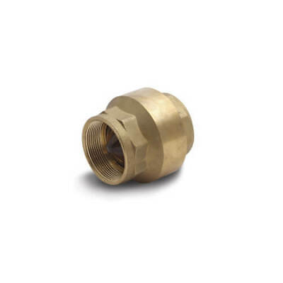 """Cash Acme 1/2"""" FPT Spring Loaded Check Valve 22509-0000 Free Shipping!!"""