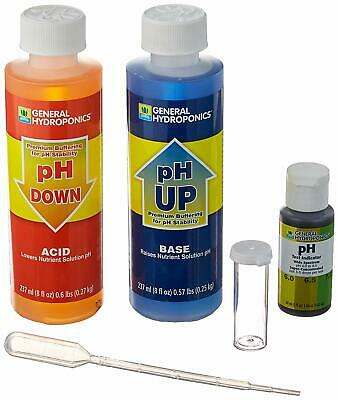 General Hydroponic Environment Liquid pH Tester Control Kit Up Down Adjustment