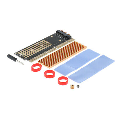 M.2 NVMe SSD NGFF TO PCIE 3.0 X16 X4 Adapter Card M Key Slot Full Speed