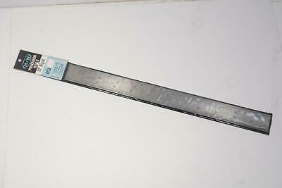 """2 NOS Moore & Wright 12"""" Rigid Precision Rule Ruler 8ths 16ths 32nds 64ths UK"""