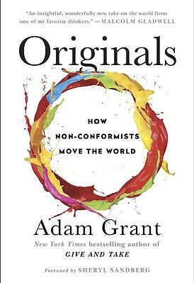 """The Originals"" By Adam Grant GROUNDBREAKING NOVEL $33.95 FREE SHIPPING BRANDNEW"
