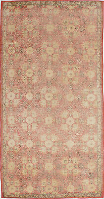 "Hand-knotted Turkish 4'0"" x 7'10"" Melis Vintage Wool Rug...DISCOUNTED!"
