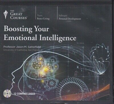 BOOSTING YOUR EMOTIONAL INTELLIGENCE by GREAT COURSES ~12 CD's 24 LECTURES + PDF