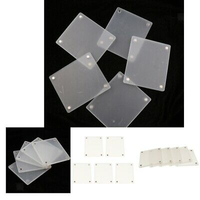 1604296995f2 20 Pcs Clear Acrylic Fridge Magnetic Frame Holder for Fujifilm SQUARE SQ10