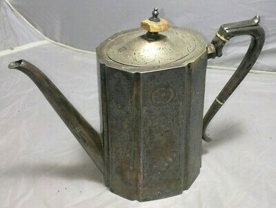 Vintage/ Antique Silver Plated Teapot in Good Condition