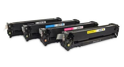 4 Toner Compatible with hp Cb540-43 Color Laserjet Cp1215 1515n 1210 1217