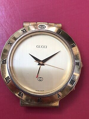 Gucci  Vintage Clock Working But Alarm Is Not See Pictures Low Start No Rese