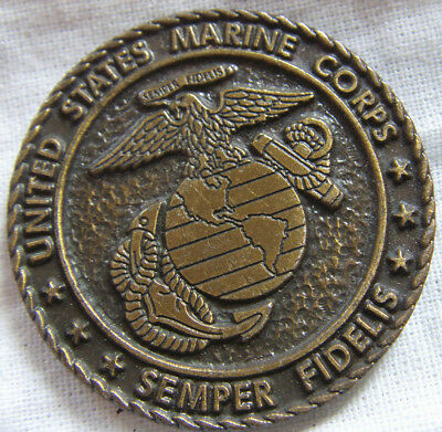 Med7028 - Medaille Jeton 25Th Marine Expeditionary Unit