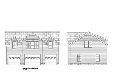28x40 - 3 CAR GARAGE PLAN -GABLE ROOF OVERSIZED ARCHITECTURAL PLAN #19-2840GBL-7