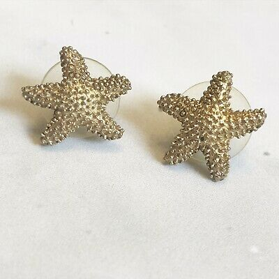 00fd8afd90a EUC VALENTINO SEA Shell & Starfish Thread Drop Earrings - $49.99 ...