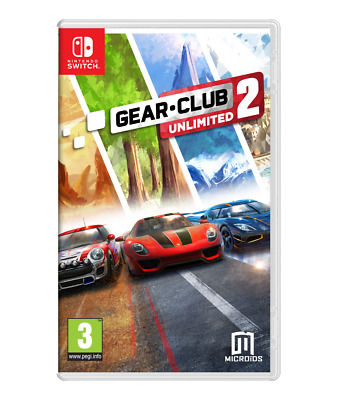Gear Club Unlimited 2 Nintendo Switch Game UK NEW & SEALED Racing Simulation