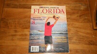 2019 Travel Guide to Florida FREE SHIPPING