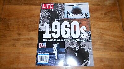 LIFE 2019, The 1960's, The Decade When Everything Changed, New/Sealed, Reissue