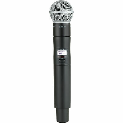 Shure ULXD2/SM58 Handheld Wireless Microphone Transmitter for ULX-D H50 Band