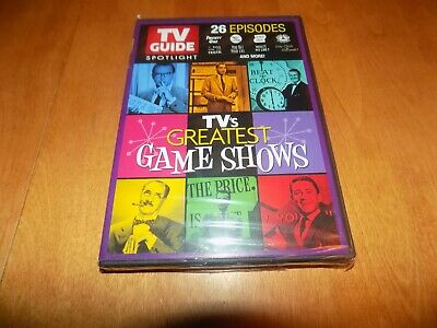 TVS GREATEST GAME SHOWS 26 Episodes TV Show Classic Collection DVD SEALED NEW