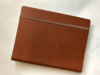 New Fringe Luxury 17 Month Planner August 2019 - December 2020 Agenda Cognac