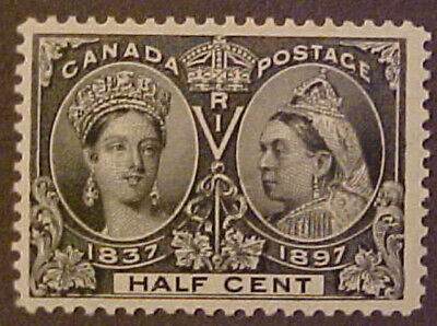 Canada Scott #50 MNH -- 1/2 Cent Queen Victoria CV $300.00