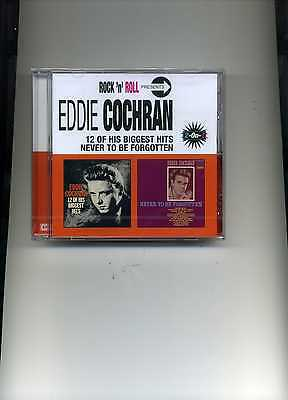 Eddie Cochran - 12 Of His Biggest Hits / Never To Be Forgotten - New Cd!!