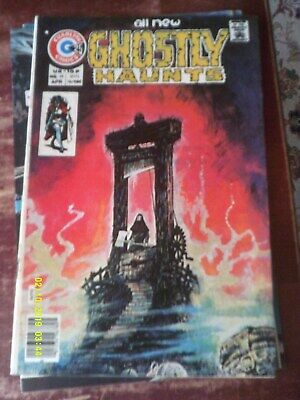 Charlton Comic,All New Ghostly Haunts,Vol 8 No 49 from 1976