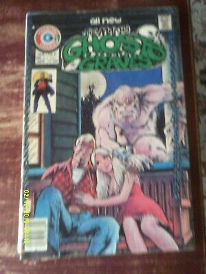 Charlton Comic,All New The Many Ghosts Of Doctor Graves,Vol 8 No 56