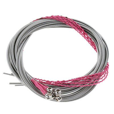 5x Steel Electric Bass Strings Set for 5 String Bass Replacement Great Tone