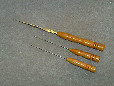 Lacemaking Lace Bobbins Opepe Tools