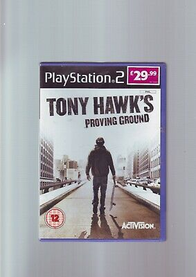 TONY HAWK'S PROVING GROUND - PLAYSTATION PS2 GAME Fast Post ORIGINAL & COMPLETE