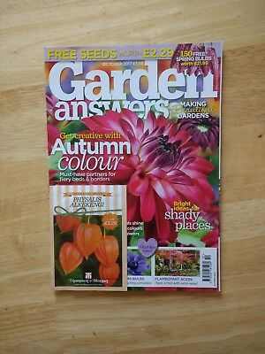 Garden Answers Magazine October 2017