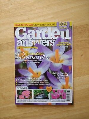 Garden Answers Magazine February 2018