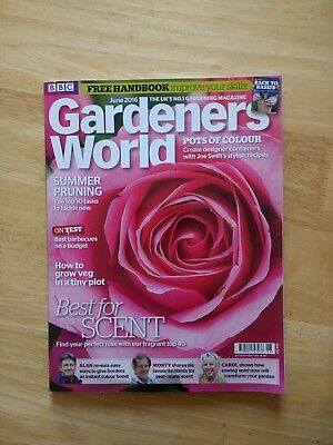 BBC Gardeners' World Magazine June 2016