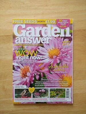 Garden Answers Magazine November 2017