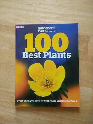 BBC Gardeners' World Magazine 100 Best Plants Bookazine