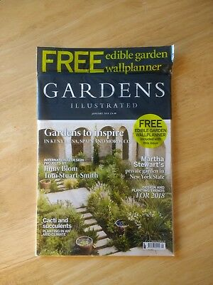 Gardens Illustrated Magazine January 2018