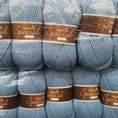 STYLECRAFT SPECIAL CHUNKY  500 GRAMS PACK 5 BALLS Cloud Blue