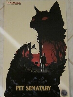 PET SEMATARY 2019 Cinemark Exclusive Promo Mini Movie Poster Stephen King