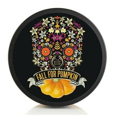 THE BODY SHOP Vanilla Pumpkin Body Butter 200ml Free Postage