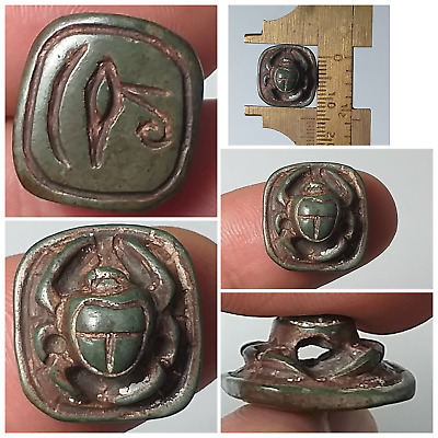 Very nice old scrab animal pendent