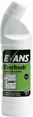 Evans Everfresh Apple Toilet Cleaner 1L