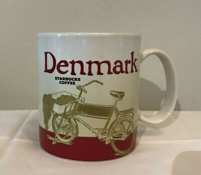 Denmark Starbucks Mug | Unused Collectable 16 oz Mug | Global Collection