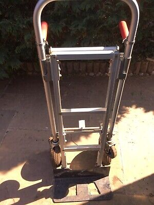 Heavy Duty Industrial 200kg Sack Truck Hand Trolley Cart Alloy
