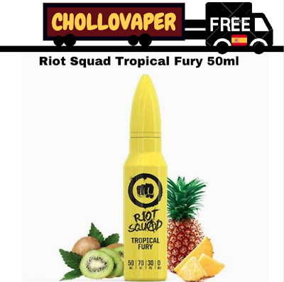 Riot Squad Tropical Fury 50ml - Eliquid, E-juice