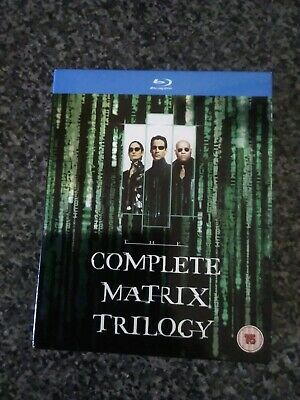 The Complete Matrix Trilogy Blu-Ray Boxset