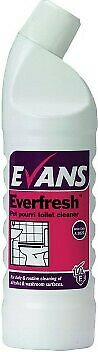 Evans Everfresh Pot Pourri Toilet Cleaner 1L