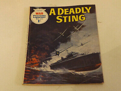 WAR PICTURE LIBRARY NO 442 !,dated 1968 !,GOOD for age,great 51 ! YEAR OLD issue