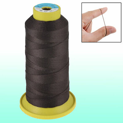 1 Roll Dark Brown 6# Stitching Cotton Line Sewing Thread Reel Spool